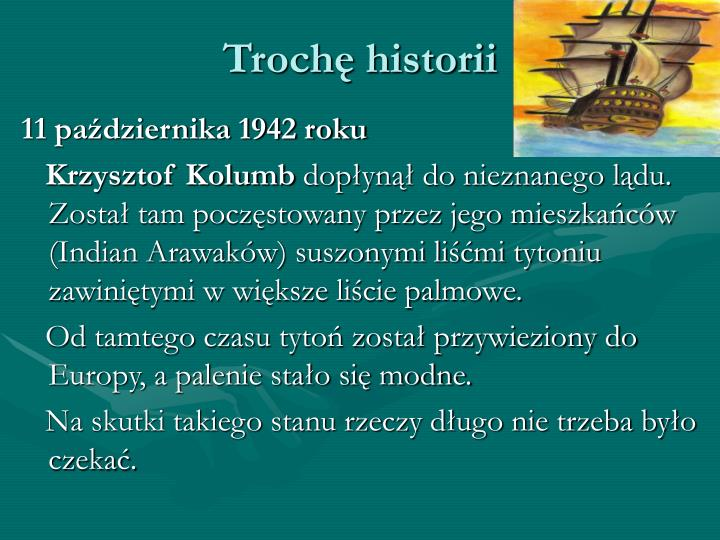 Troch historii