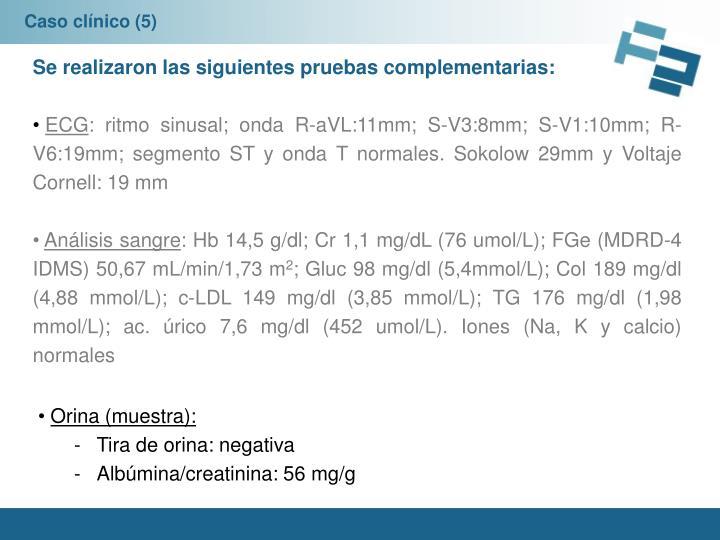 Caso clínico (5)