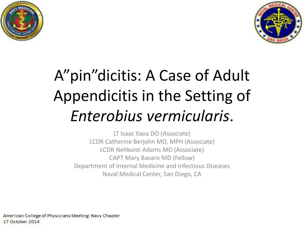 "PPT - A""pin""dicitis : A Case of Adult Appendicitis in the Setting of"