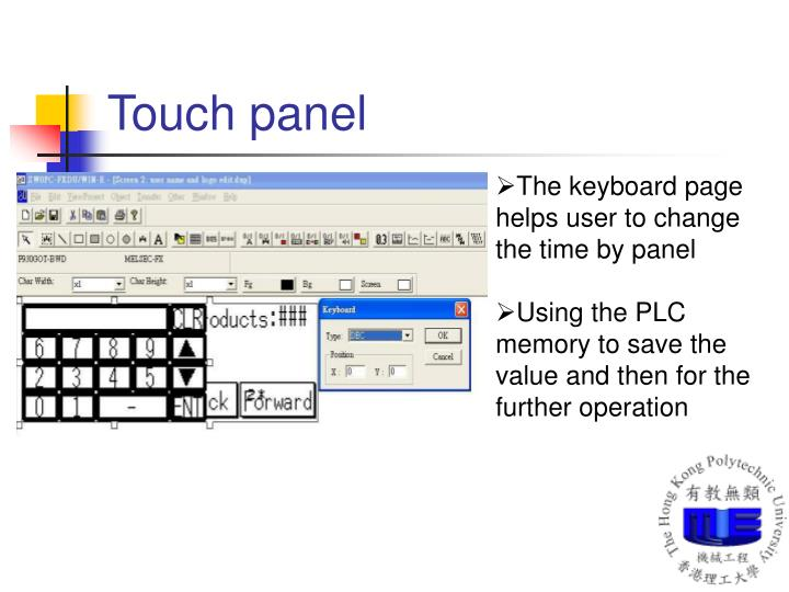 Touch panel