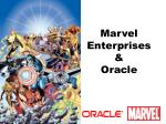 marvel enterprises oracle