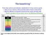 re baselining1