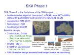 ska phase 1