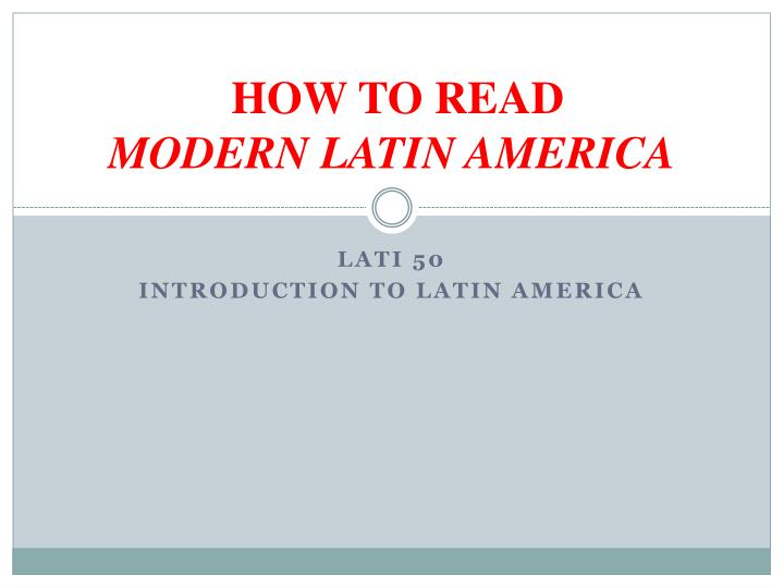 prebisch thesis latin america For case studies of latin american countries, including brazil, see essays in rosemary thorp, ed, latin america in the 1930s: the role of the periphery in world crisis (london: macmillan, 1984) for the best overview of the depression across latin america, see victor bulmer-thomas, the economic history of latin america since independence.