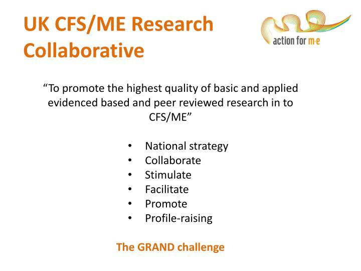 Uk cfs me research collaborative
