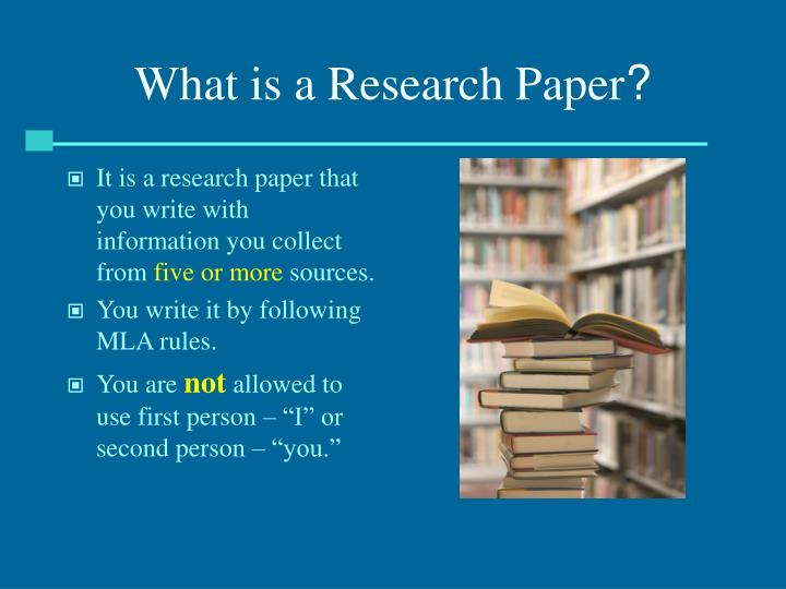 what are the rules for writing a good research paper