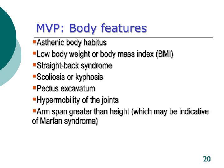 MVP: Body features