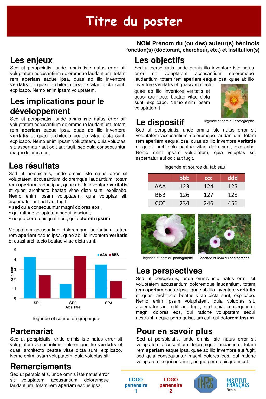 ppt - titre du poster powerpoint presentation