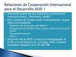 relaciones de cooperaci n internacional para el desarrollo aod 1
