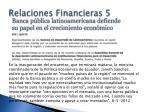 relaciones financieras 5