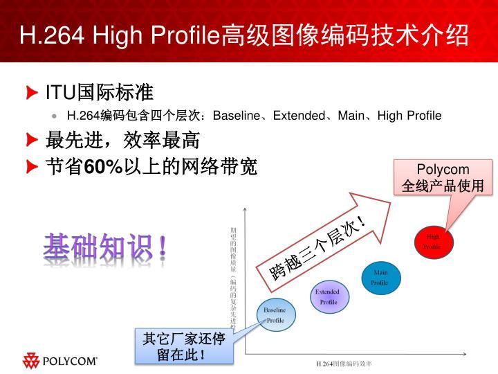 H.264 High Profile