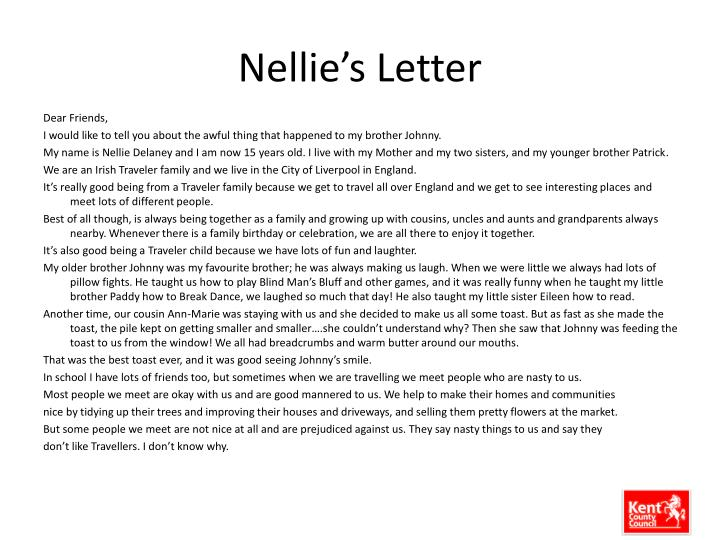 Nellie's Letter