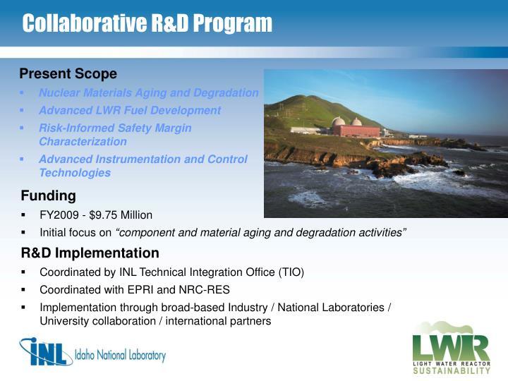 Collaborative R&D Program
