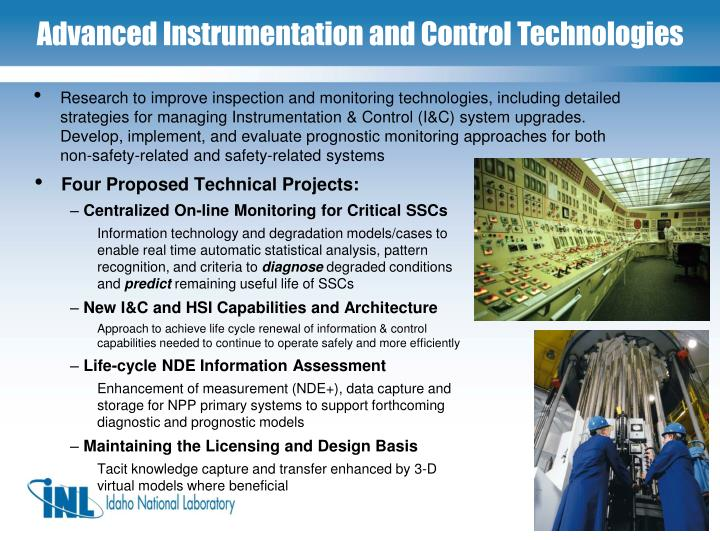 Four Proposed Technical Projects: