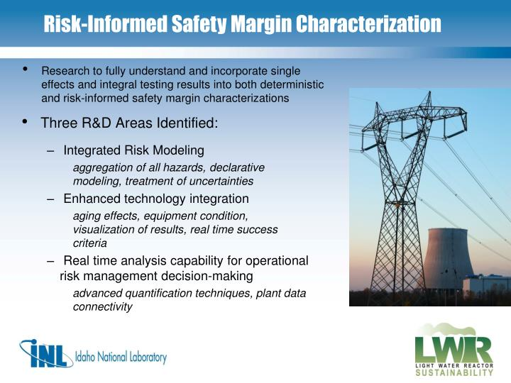 Three R&D Areas Identified: