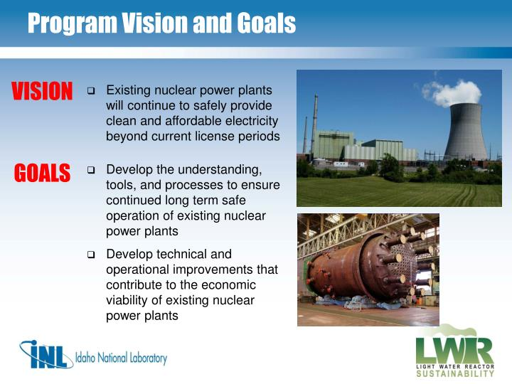 Program Vision and Goals