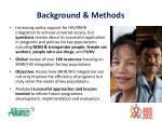 backgroun d methods