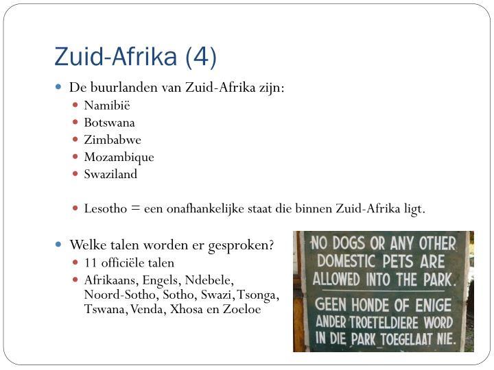 Zuid-Afrika (4)