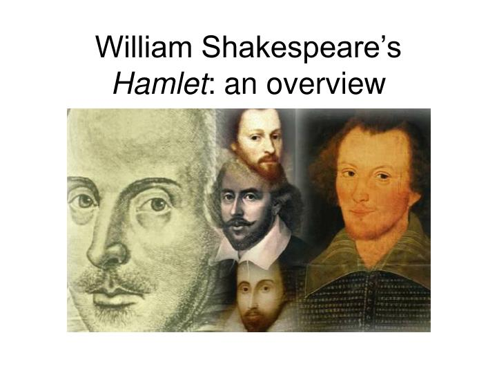 a plot overview of william shakespeares play hamlet