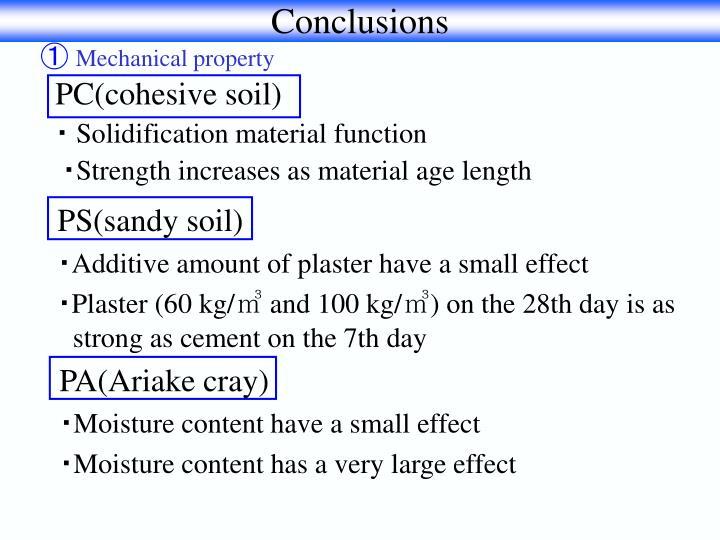 PS(sandy soil)