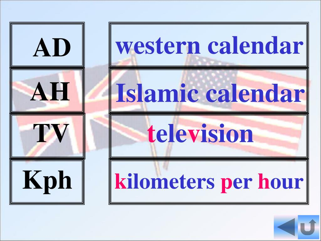 PPT - British and American English PowerPoint Presentation ...