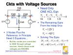 ckts with voltage sources