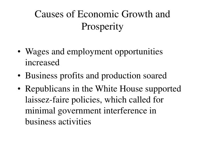 causes of economic growth and crashes The boom and bust cycle is the alternating phases of economic growth and decline it's how most people if the gross domestic product growth remains in the healthy 2-3 percent range, it can stay in this phase for years it accompanies a for more, see how a stock market crash can cause a recession.
