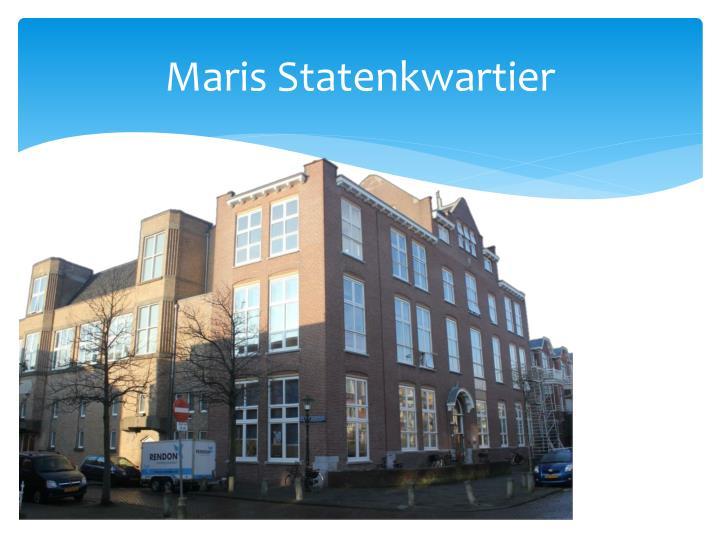 Maris Statenkwartier