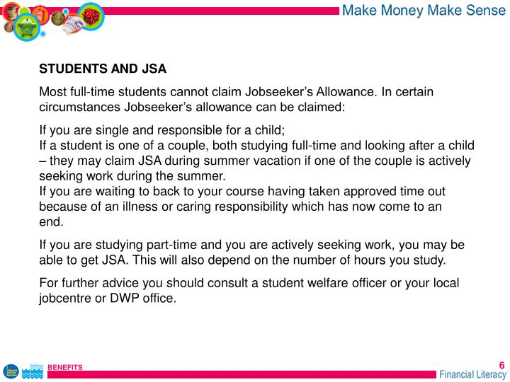 STUDENTS AND JSA