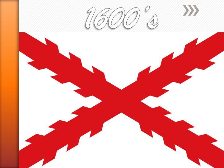 1600 s