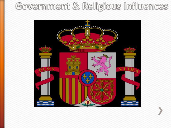 Government religious influences