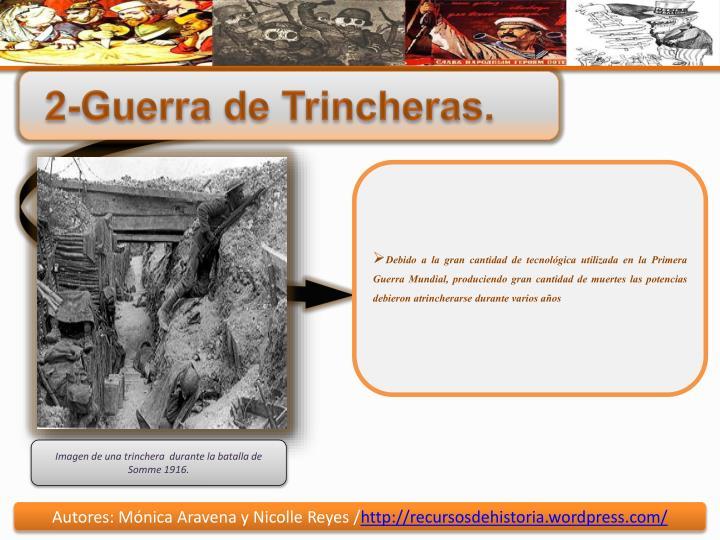 2-Guerra de Trincheras.