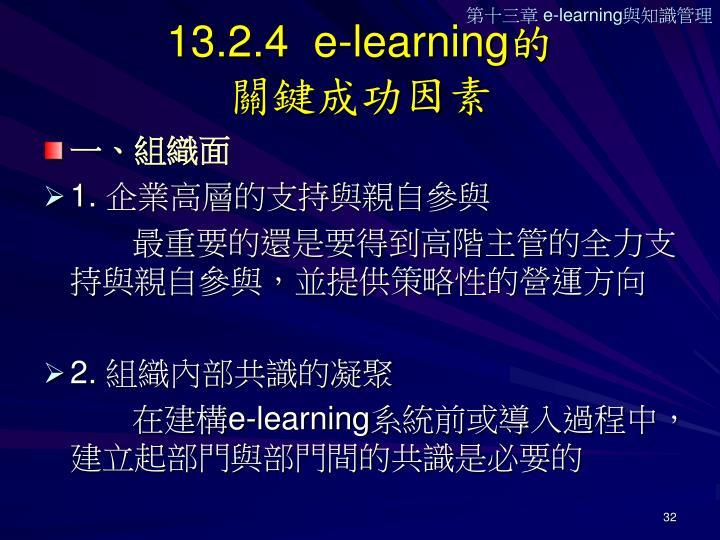 13.2.4  e-learning