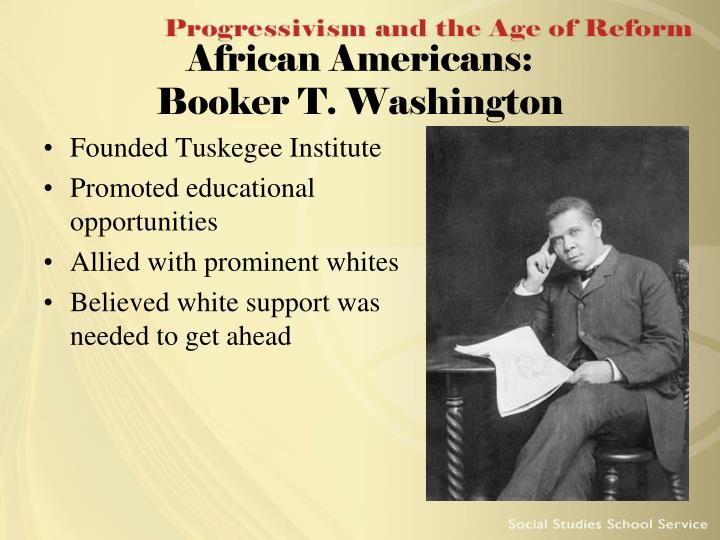 Founded Tuskegee Institute