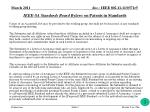 ieee sa standards board bylaws on patents in standards1