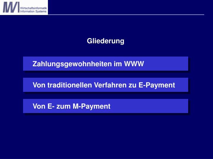 Zahlungsgewohnheiten im WWW
