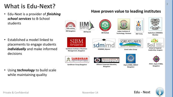 What is edu next