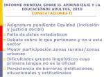 informe mundial sobre el aprendizaje y la educaci nde adultos 2010 constataciones ii