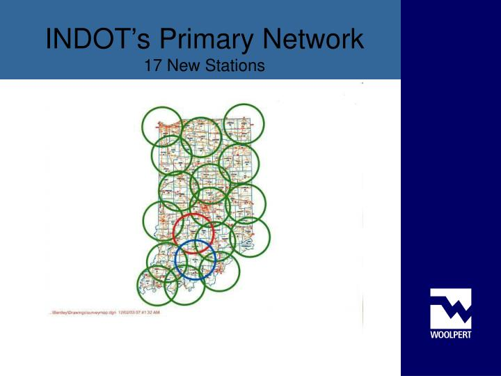 INDOT's Primary Network