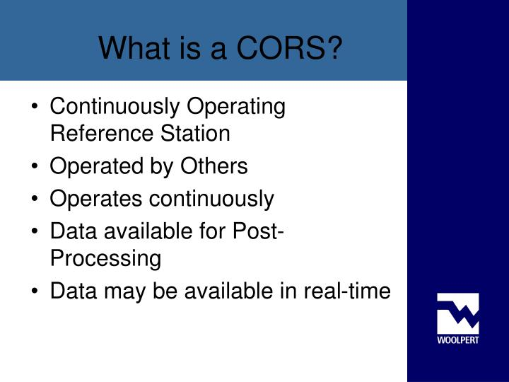 What is a cors