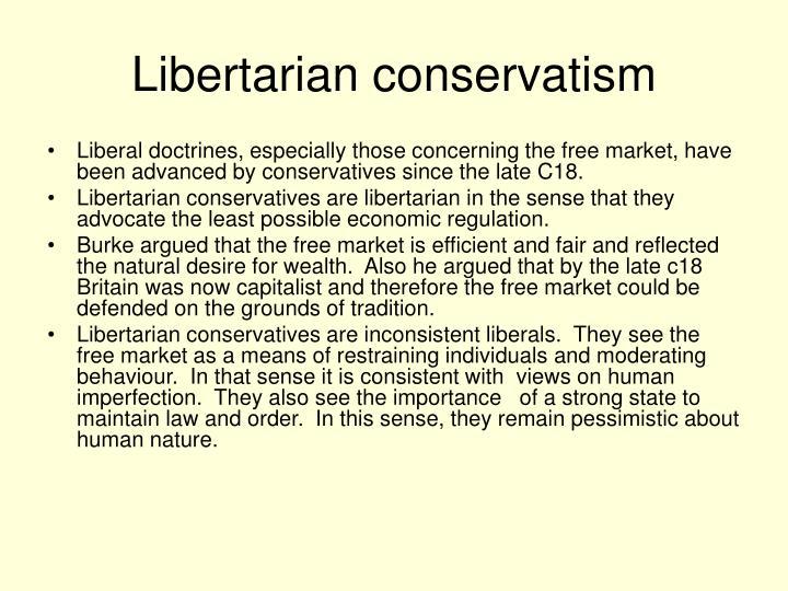 Libertarian conservatism
