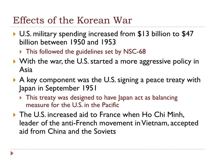 Effects of the Korean War