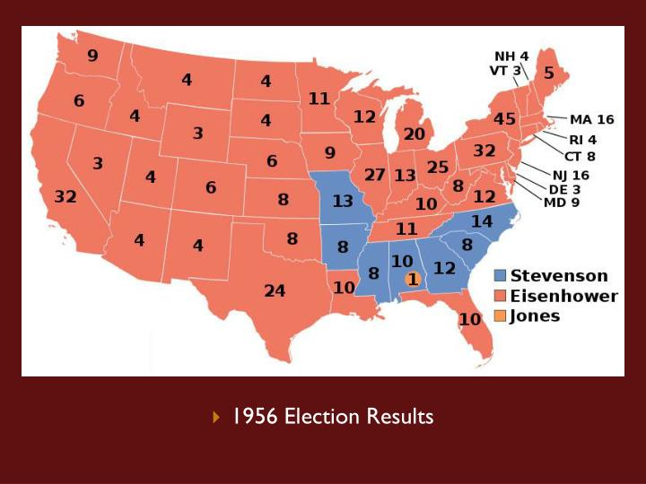 1956 Election Results