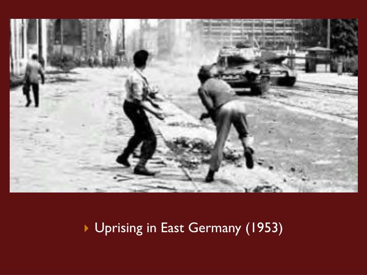 Uprising in East Germany (1953)