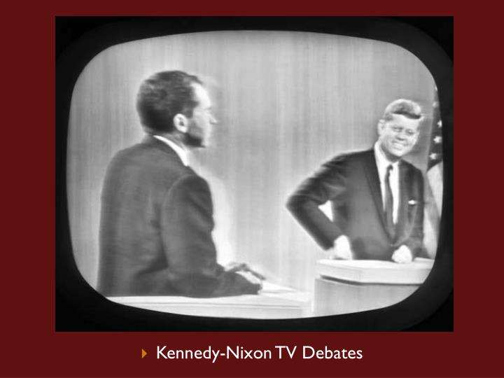 Kennedy-Nixon TV Debates