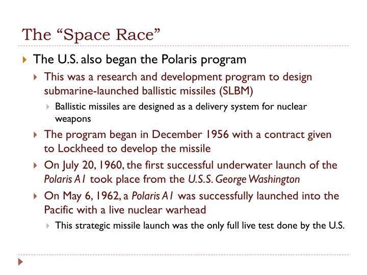 "The ""Space Race"""