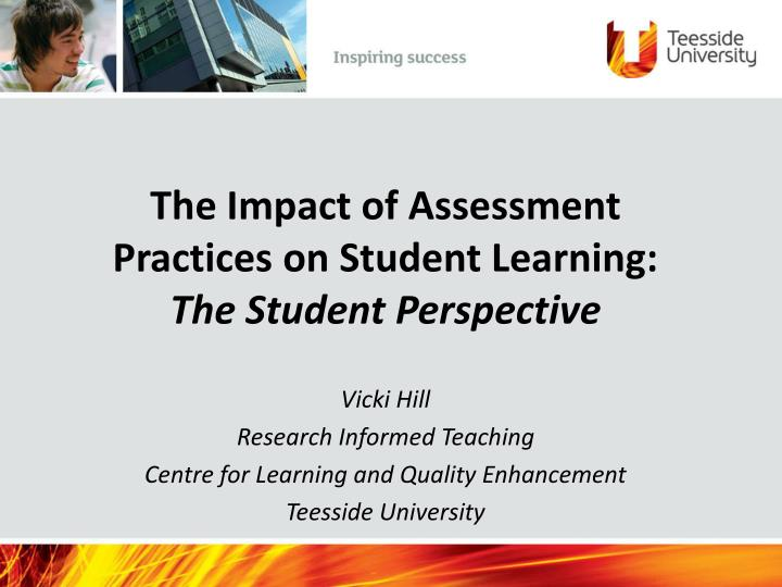 impact of assessment for learning Teacher assessment and evaluation: concept map for standards-based learning and assessment system inform teachers of evaluation results and the impact on.