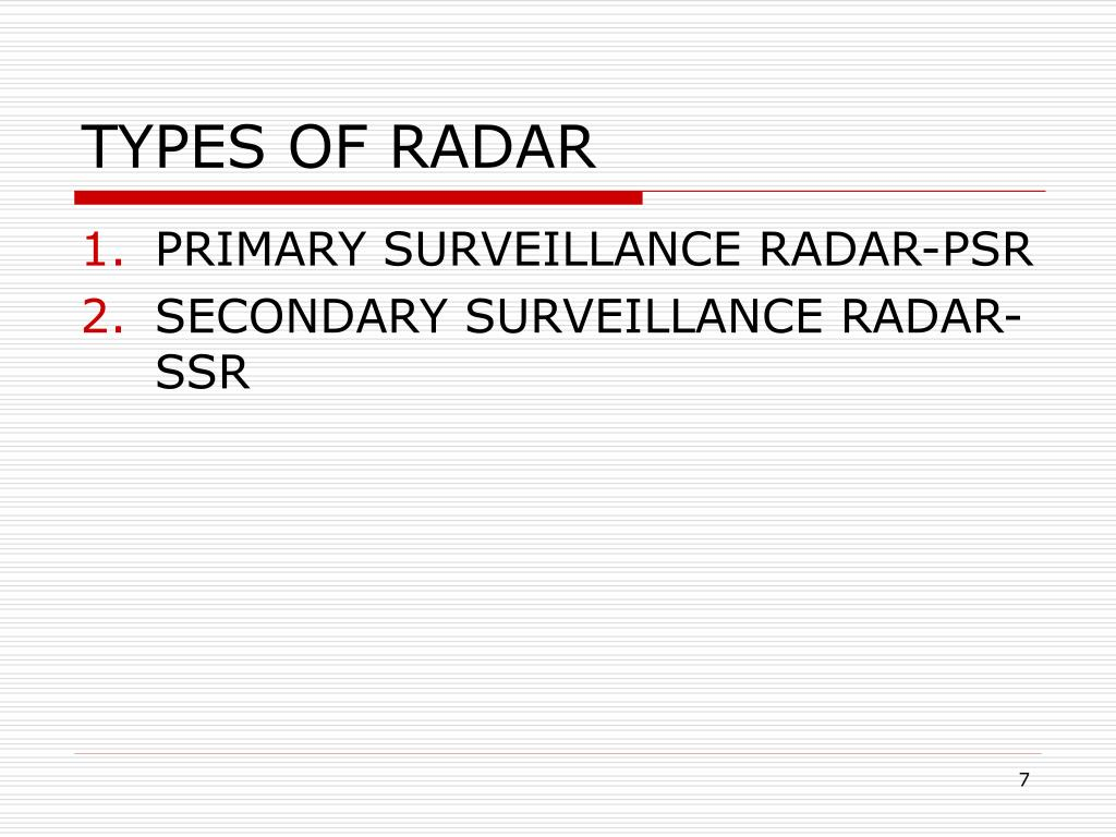 PPT - Unit-3 RADAR SERVICES AND FIS 1401 PowerPoint Presentation