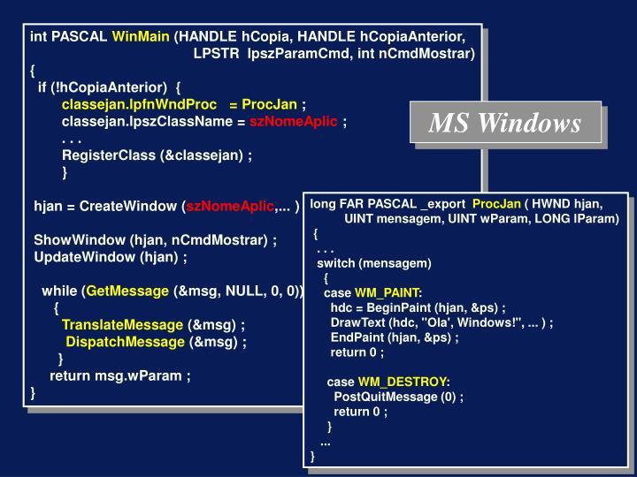 MS Windows