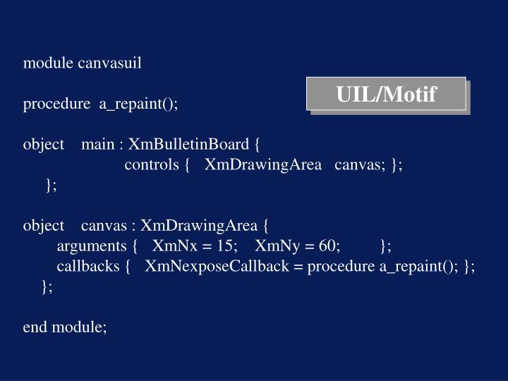 UIL/Motif
